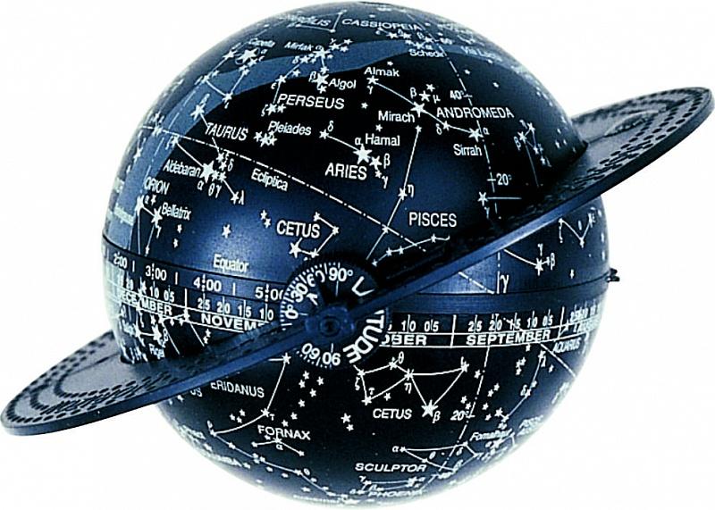 Это не просто глобус звездного неба, а настоящий астрономический инструмент, с помощью которого можно определить